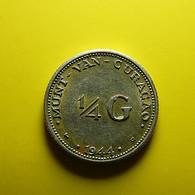Curaçao 1/4 Gulden 1944 D Silver - Curaçao