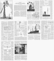 """SOURCE INEPUISABLE D'ENERGIE  """" LE VENT """"  1927 - Ciencia & Tecnología"""