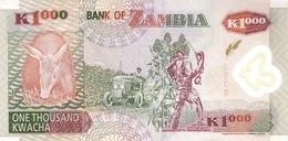 ZAMBIA P. 44b 1000 Z 2003 UNC - Zambie