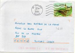 France N° 3627 Y. Et T. Vienne Avanton Flamme Muette Du 27/01/2004 - 1961-....