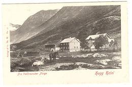 NORVEGE - NORWAY - Fra Valdresruten Norge - Hegg Hotel - Ed. G. Th. W. N° 51 - Norvège