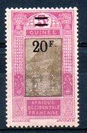 Guinée  Französisch Guinea Y&T 106* - Französisch-Guinea (1892-1944)
