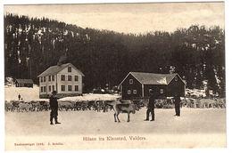 NORVEGE - NORWAY - Hilsen Fra Klaustad, Valders - Ed. J. Roböle - Norvège