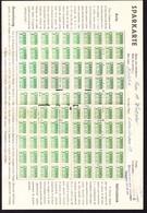 Um 1940 Komplette Sparkarte Mit 100  1 Ct Marken. Merkur Kaffee - Recettes De Cuisine