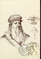 54053 Bosnia & Hercegovina, Maximum 15.4. 2002 Leonardo Da Vinci, Selfportrait, - Arte