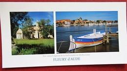 11 - Fleury D'Aude - Notre Dame De Liesse - Cabanes De Fleury - 002.0503 PANO - Andere Gemeenten