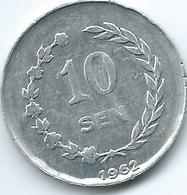 Indonesia - 1962 - Riau Archipelago - 10 Cents - KM7 - Kepulauan Riau Edge Lettering - Indonesia