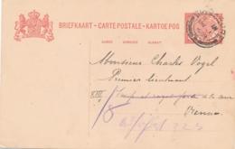 Nederlands Indië - 1909 - 5 Cent Cijfer, Briefkaart G17 Van Palembang - Stempel SINGAPORE - Naar Vienna / Österreich - Indes Néerlandaises