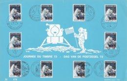 Feuillet Numéroté 1622 Espace Astronaute David R. Scott - Panes