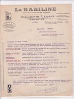 """78-Ets Legris.....Produits D'Entretien.."""" La Kabiline """" Teinture Des Ménages...Versailles ...(Yvelines)..1954 - Frankreich"""