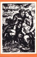 Mi038 GHETTO De VARSOVIE Hommage Martyrs Dessin Maurice MENDJISKY CpaWW2 Abbé PIERRE Civilisations S' Elèvent - Weltkrieg 1939-45