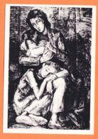 Mi033 GHETTO De VARSOVIE Hommage Martyrs Dessin Maurice MENDJISKY CpaWW2 Abbé PIERRE Amour Dévorant Faim Justice - Weltkrieg 1939-45