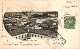 FERRARA PANORAMA Della CITTA.  Italia Italie Italien - Ferrara