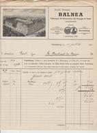 ALLEMAGNE: BALNEA Fabrique De Souvenirs & Vues à Nuremberg / Fact. De 1910 - Sports & Tourism