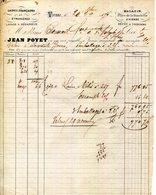 38.ISERE.VIENNE.LAINES FRANÇAISES & ETRANGERES.JEAN POYET PLACE DE LA BOUCHERIE.LAVAGE A BEDARIEUX.1875.(P.J) - France