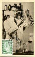 15151017 Belgium 19510414 Woluwe Chimiste CM Cob842 - Maximumkarten (MC)