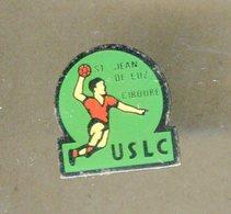 Pin's - Saint Jean De Luz Ciboure USLC - Hand Handball - Pays Basque - Handball