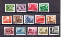 Hongrie 1951 Yvert 1004A / 1012 ** Neufs Sans Charniere. Plan De Restructuration. - Nuovi