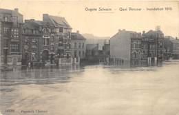 Ougrée Sclessin - Quai Vercour - Inondation 1910 - Seraing