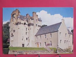 Visuel Pas Très Courant - Ecosse - Crathes Castle - Kincardineshire - Excellent état - Recto Verso - Kincardineshire