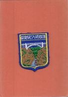 Ecusson  Tissu   -     LES GORGES DU VERDON - Ecussons Tissu