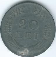 Romania - Michael I - 1943 - 20 Lei - KM62 - WWII Zinc Issue - Romania