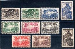 Guinée  Französisch Guinea Y&T 158* - 165*, 167** (quelques Timbres **) - Französisch-Guinea (1892-1944)