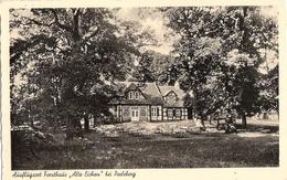 PERLEBERG Ausflugsort Forsthaus ALTE EICHEN Fotokarte TOP-Erhaltung Ungelaufen - Perleberg