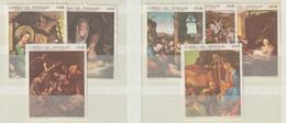 PARAGUAY - 1969  - Y&T Nrs. 1013....1019  Of Mi Nrs. 1983...1989 - Schilderijen Van Kerstmis  -Ongestempeld ** - Paraguay