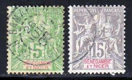 Senegambie Et Niger 1903 Yvert 4 - 6 (o) B Oblitere(s) - Used Stamps