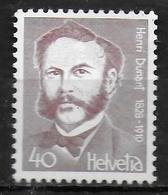 SUISSE   N° 1068 * *  Croix Rouge Henri Dunant - Henry Dunant