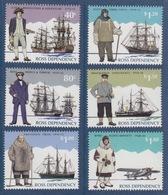 Ross, N° 38 à 43 (Cook, Ross, Amundsen, Scott, Shackleton, Byrd) Neuf ** - Unused Stamps