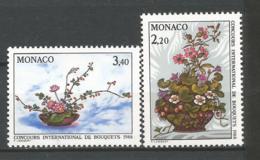 MONACO ANNEE 1987 N°1597 1598 NEUFS** NMH - Ongebruikt