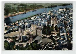 41 SAINT AIGNAN SUR CHER LA COUR D HONNEUR E LA TOUR DU CHATEAU VUE AERIENNE N° 7 316 - Saint Aignan