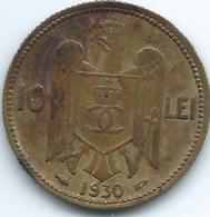 Romania - 1930 - Carol II - 10 Lei - KM49 - Romania