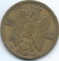 Romania - 1930 - Carol II - 20 Lei - KM51 - Romania