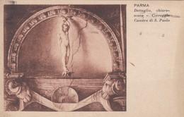 ITALIA - PARMA - CARTOLINA - DETTAGLIO CHIARO - SCURO - CORREGGIO CAMERA DI S. PAOLO- VIAGGIATA PER TORINO - Parma