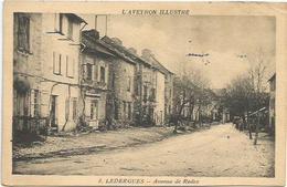 CPA  Ledergues Avenue De Rodez - France