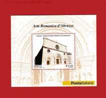 Italia ** - Anno 2010.  BF,53.  Arte Romanica D'Abruzzo BASILICA Di COLLEMAGGIO .  MNH - 2001-10: Neufs