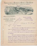 SEINE: F. LOUIS, Meubles En Hêtre & Bois Blancs, R. V. Hugo à Pantin / L.  De 1918 - Autres