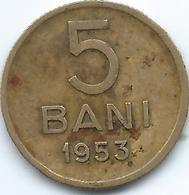 Romania - People's Republic - 5 Bani - 1953 - KM83.2 - Romania