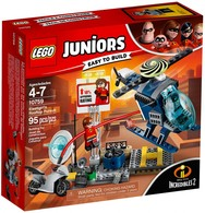 Lego Juniors - LES INDESTRUCTIBLES 2 La Poursuite Sur Les Toits D'Elastigirl Réf. 10759 Neuf - Lego