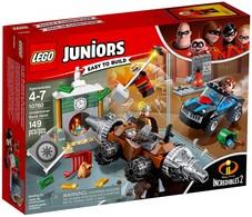 Lego Juniors - LES INDESTRUCTIBLES 2 Le Braquage D'une Banque Du Démolisseur Réf. 10760 Neuf - Lego