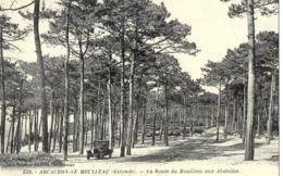 33 ARCACHON LE MOULLEAU La Route De Moulleau Aux Abatilles Les Pins De La Corniche (Cartes D'Autrefois) - Aquitaine