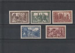 Sarre N° 278 à 282** - Unused Stamps