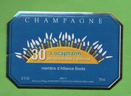 "Etiquette Du Champagne   "" Philippe   MASSONNOT - Champagne"