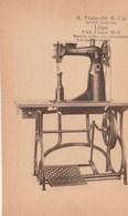 Machine à Pillier Pour Maroquinerie (Pax Classe 29 G)(  Francotte& Cie Liége.)  Scan - Pubblicitari