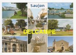 DF / 17 CHARENTE MARITIME / SAUJON / DIVERS ASPECTS DE LA COMMUNE / CARTE MULTIVUES - Saujon