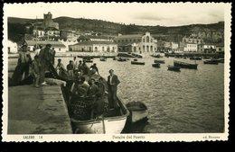 Laredo Detalle Del Puerto  Animada Barcena - Cantabria (Santander)