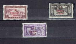 TP - ALBANIE - ADMINISTRATION ALLEMANDE DE 1943 - N° 300 A 302 NEUFS** - TTB - Albanie